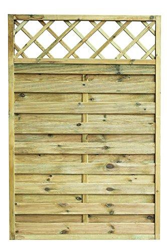 Avanti Trendstore - Cremona - Sichtschutzwand aus Kieferholz massiv, imprägniert, in 3 verschiedenen Größen verfügbar (120x180)
