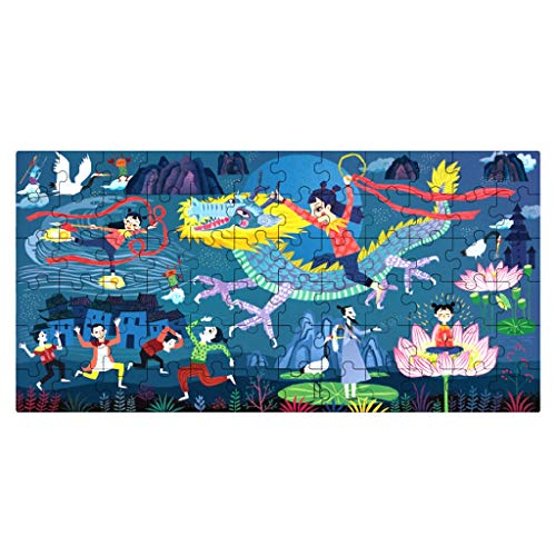 Puzzles Spielzeug Puzzlespiel-Karikatur Kinder Intelligenz Junge Und Mädchen kreative Früherziehung Spielzeug 3-4-5 Jahre alt Brainteaser