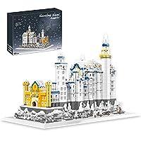 8288 個白鳥石城マイクロビルディングブロックキット有名な建築ミニダイヤモンドレンガ建設教育 DIY おもちゃ子供の大人のギフト