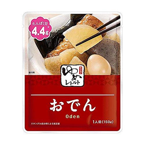 減塩 食品 キッセイ ゆめシリーズ おでん レトルト 150g×2袋セット (塩分 たんぱく質 リン カリウム にも配慮)
