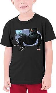 夏9~15歳の半袖Tシャツ Alan Walker 人気の サンシャインボーイ半袖Tシャツ