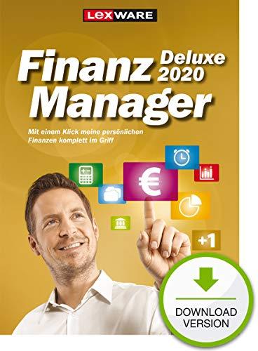 Lexware FinanzManager Deluxe 2020 Download|Einfache Buchhaltungs-Software für private Finanzen und Wertpapier-Handel