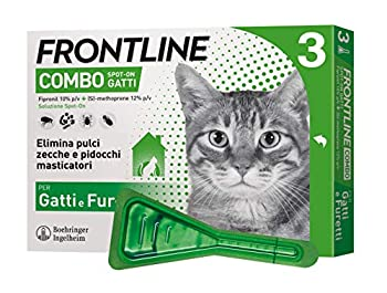 Frontline Combo Spot-On Cats 3 pipettes de 0,5 ml