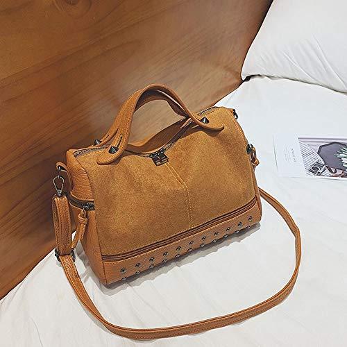 Girls Bag Ladies Bag Handtas Koreaanse versie van het pakket Simple Wild schoudertas met grote capaciteit Bag (Color : 1)