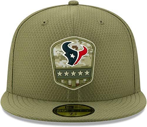 New Era 59Fifty Cap Graphite Houston Texans 7 5//8