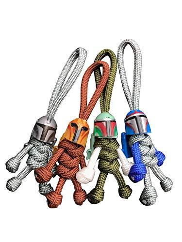 Buddy Keychains - The Mandalorian Star Wars Key Rings | Paracord Buddy |...