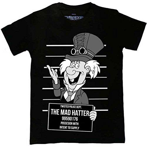Twisted Apparel Steampunk Mad Hatter T-Shirt - L