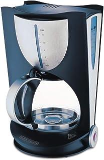 Black & Decker 800W 15 Cup Coffee Maker, Black, DCM80-B5, 2 Year Warranty