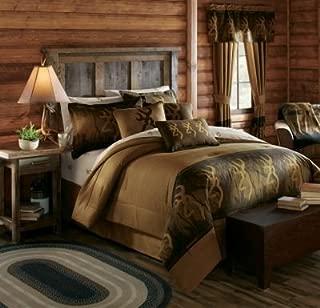 Browning Oak Tree Buckmark Comforter Set (Full)