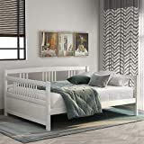Harper & Bright Designs Full Daybed Frame, Solid Wood Daybed Frame,No...
