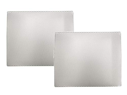 Range Kleen Silver Counter/Table Protector Mat - 14 x 17 Inches - 2 Pack