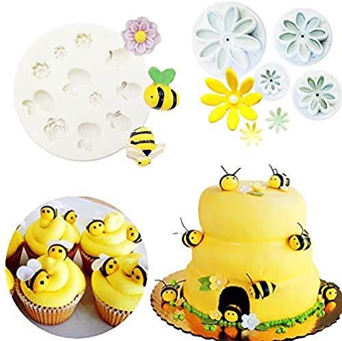 Bumble Bee Cake Decoration Fondant Mold