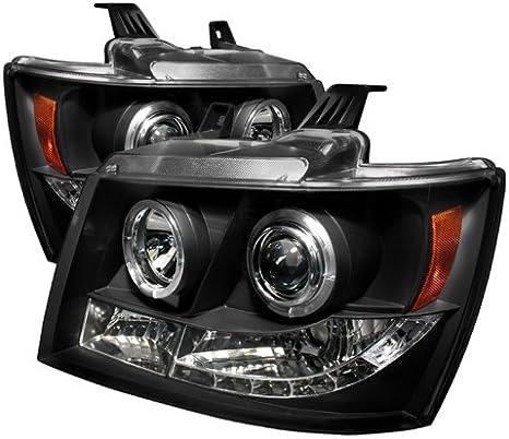 Spyder Auto Chevy Suburban 1500//2500//Chevy Tahoe//Avalanche Chrome Halogen Projector Headlight