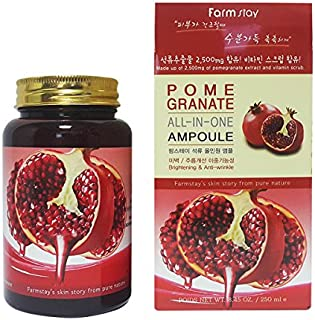 ファームステイ[韓国コスメFarm Stay]Pomegranate All In One Ampoule ザクロオールインワンアンプル250ml [並行輸入品]