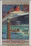 Herbé TM Boot, Motiv Paquot Le Normandie Rf1 – Poster /