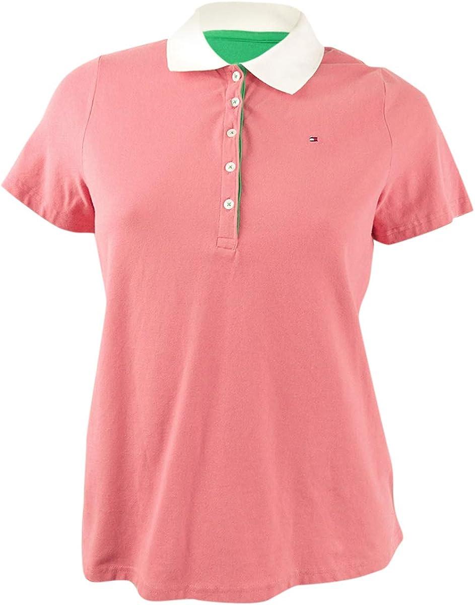 Tommy Hilfiger Women's Classic Short Sleeve Polo Shirt
