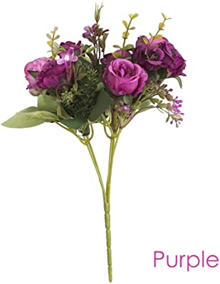 Piece RetailSource Spring Floral 20 Artificial Fuchsia Rose Pick 12 Pack