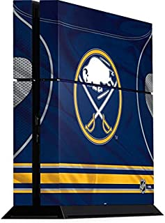 Skinit Decal Gaming Skin for PS4 Console - Officially Licensed NHL Buffalo Sabres Home Jersey Design