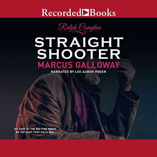 Straight Shooter audiobook cover art