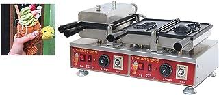 MXBAOHENG NP-704 Machine à gaufrer électrique antiadhésive pour crème glacée Poisson Taiyaki