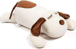 Bunbunbunny Stuffed Animal Dog Plush Toy 17.5 Inch Hugging Pillow Kawaii Plush Soft Pillow Doll Dog, Plush Toys Gifts for ...