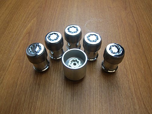Mopar Jeep Wrangler JL Wheel Lock Locking Lug Nut Kit OEM