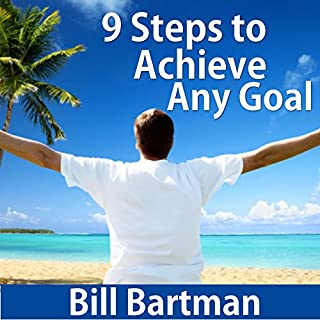 9 Steps to Achieve Any Goal audiobook cover art