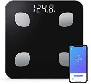 Gluckluz Body Fat Scales Smart Digital Body Composition Bluetooth Weighing Monitor with iOS & Android APP for Bathroom Kit...