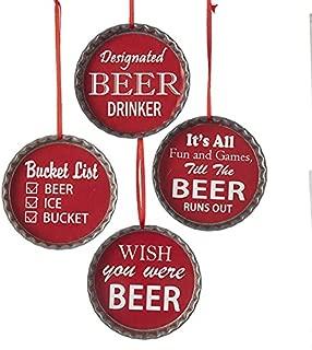 Best beer cap christmas ornaments Reviews