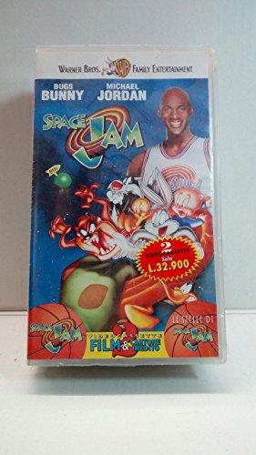 VIDEOCASSETTA VHS -SPACE JAM - BUGS BUNN con Michael Jordan - VHS NUOVA