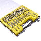 Juegos De Brocas 150Pcs 0.4-3.2Mm Hss Mini Twist Drill Bit Kit Set Precision Micro Twist Drill Para Pcb Crafts Jewelry Drill Bit Set Power Tools