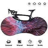 Housse de protection pour roue de vélo, sac de rangement pour vélo d'intérieur anti-poussière, équipement de protection de vélo élastique lavable pour vélo de route VTT