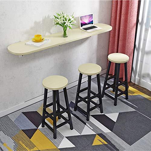 Folding table Wandtisch Wandtisch Stehtisch Wohnküche Kleiner Tisch Klapptisch Wandmontage Kleiner Apartment-Studiertisch Wandtisch
