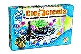 Cefa Toys- Disney Ciencicefa 4 en 1 química, Cristales, microscopio y minerales (21752)