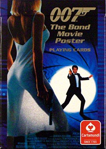 007 The Bond Movie Poster Cartes à Jouer