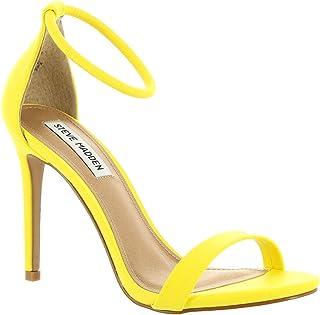 b53980f8127 Amazon.com  Yellow Women s Heeled Sandals