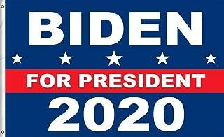 SFDG Joe Biden Flag - Biden 2020 3x5 قدم العلم تم تصميمه مع بيدن أحدث شعار استخدام ألوان العلم الأمريكي الكلاسيكية هي الدي...