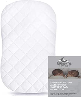 oval mattress pad for bassinet