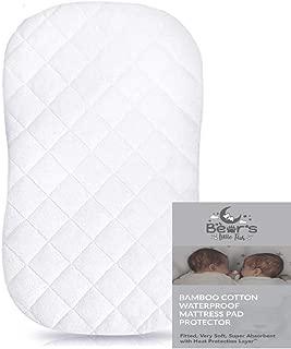 oval mattress pad for bassinet