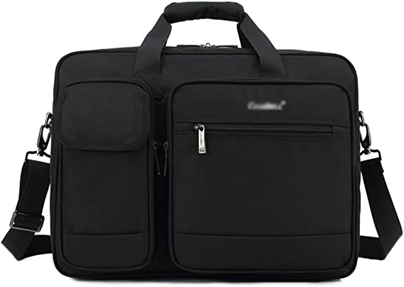 GXRck Laptop-Tasche Handtasche 15 6 Zoll Aktentasche wasserabweisend Computer Umh ngetasche Durable Tablet Sleeve f r Business College Frauen M nner Black-15 inches
