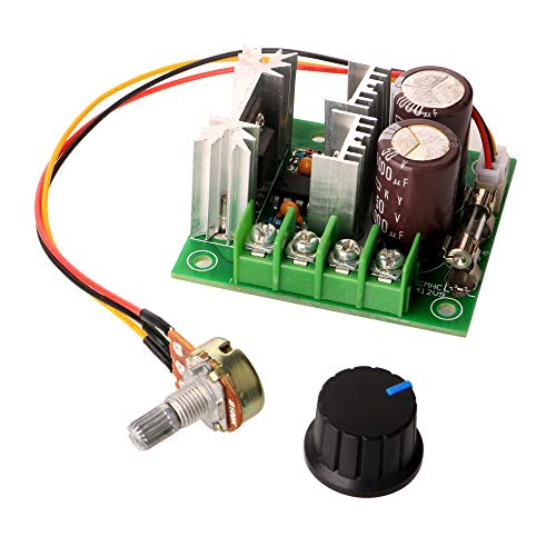 Gebildet 1pcs 12V-40V 10A PWM Controlador de Velocidad del Motor,Velocidad Variable Interruptor Módulo,DC Gobernador de Motor Stepless