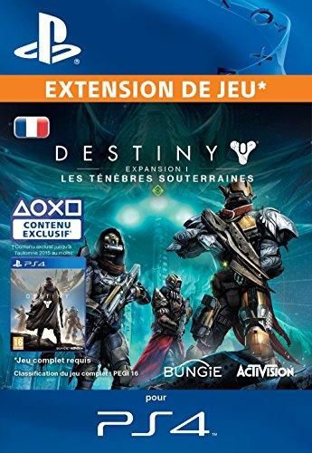 Destiny Extension 1: Les Ténèbres Souterraines [Code Jeu PSN PS4 - Compte français]