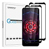(2 Pack) Orzero Tempered Glass Screen Protector Compatible for ZTE Nubia Red Magic 3 (6,65'), 9 Hardness HD Anti-Scratch Anti-Fingerprint Bubble-Free (Lifetime Replacement)