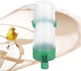 XiangXin Contenedor de alimentación automática para pájaros de Agua Potable, contenedor de bebederos para pájaros, Conveni...