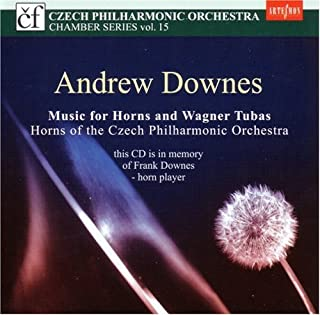 ANDREW DOWNES: Music for Horns and Wagner Tubas