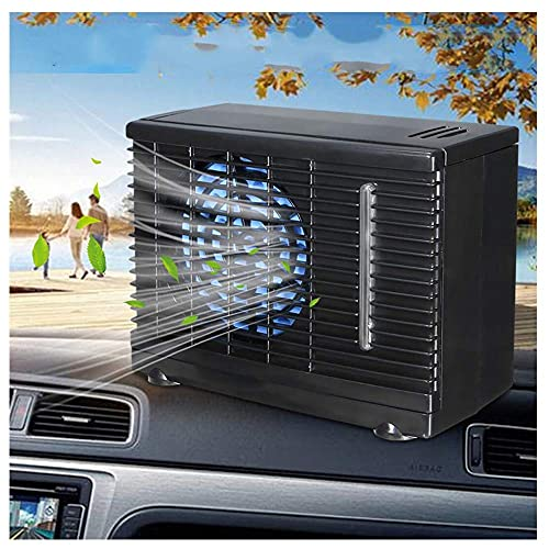 WANGXIAOLINfengshan Car fan 12V 35W 2 Speed Portable Mini Home Car Cooling Fan Cooler Water Ice Evaporative Car Air Conditioner for Car Truck Auto Cool Fan