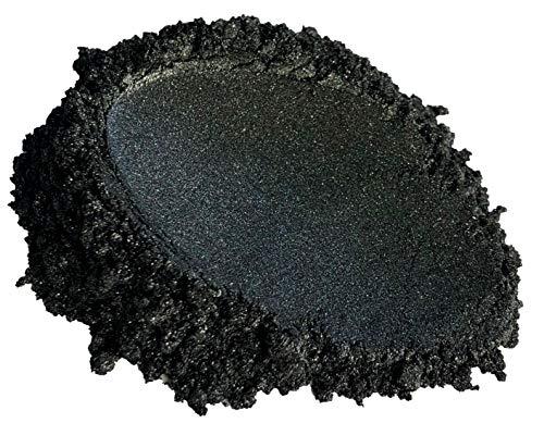 (51g/1.8oz) 'BLACK DIAMOND' Black Diamond Pigments Multipurpose DIY Arts and Crafts Additive | Natural Bath Bombs, Resin Art, Paint, Epoxy, Soap, Nail Polish