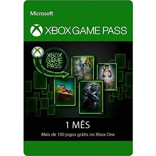 Xbox Game Pass 1 Mês - Cartão Presente Gift Card