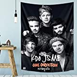 One Direction Tapestry Blanket Celebrity Tapestry for Party Bedroom Decoration 50x60in