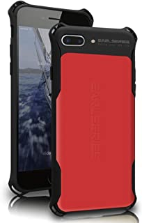 WK DESIGN iPhone 7 Plus case Heavy Duty Protection Shock Reduction Bumper Case for iPhone 7 Plus Cover(Red)